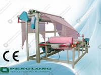 double fold rolling machine with book form and roll form,fabric pleating machine