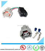Vehicle Nippon Denso 2 Pin Injectors Auto Connectors Waterproof Types