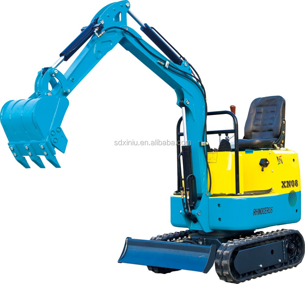 0.8 ton 1.5 ton digger mini garden backhoe excavator for sale