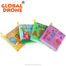11x12cm Baby's First Book Cloth Kid Book Learning Mat Best Toys For Child Toys 0-24 Months Forest Animal Baby memory Cloth Book
