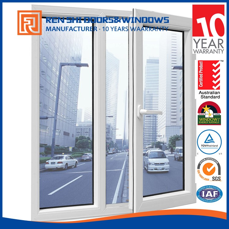 New design anti-noise casement german style windows