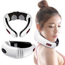 Electric Back Neck Shoulder Electrical Pulse Electric Shock Body <strong>Massager</strong>