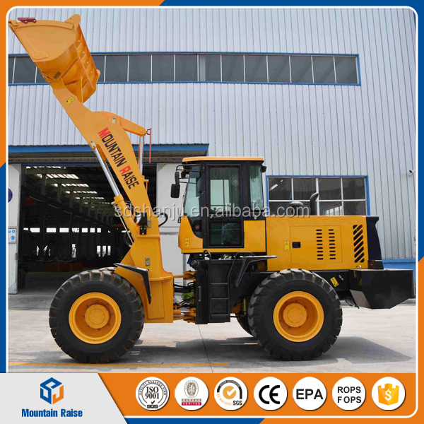 2500KG Wheel loader Hydraulic Press construction Machine