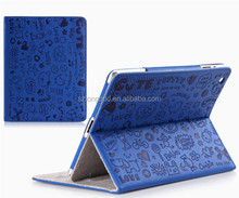 Colorful Cute Stand Smart Case Cover For iPad 2/3/4, Leather case for iPad Air/Ipad5