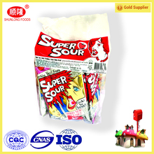 OEM sour and sweet center filled hard candy