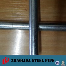 agricultural pipe ! galvanized pipe support bs1387 q235 galvanised pipe tube