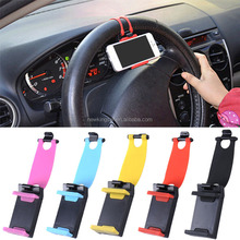 Universal Car Steering Wheel Phone Socket Holder Navigate Case Cover For iPhone for samsung