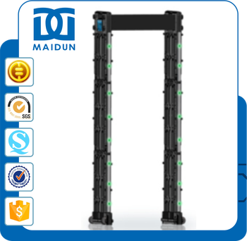 MD-600ST Proffessional Portable Metal Detector Made In China Walk Through Scanner Gate With Remote Control