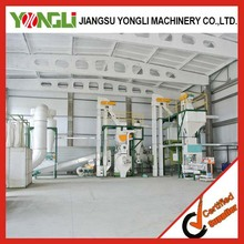 new design good price 10 tons per hour biomass pellet production press line plant hot selling in Russia YONGLI MADE