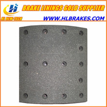 Long worklife brake linings 19071 for VOLVO