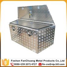 Aluminum Tool Box Storage Pickup Trailer Underbody Chest Tongue Truck box