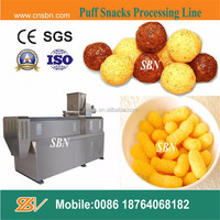 Stainless steel hot sale cheese puff snack food making equipment