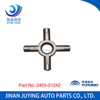 Genuine 2403-01242 bus universal joint cross bearing price spare parts for Yutong