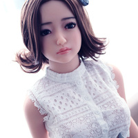 ASdoll 140cm Japanese life size sex dolls,Lifelike real silicone love doll with big breast oral/vagina sexy toys for man