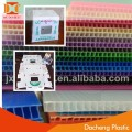 Widely used polypropylene pp hollow plastic board/pp corrugated board
