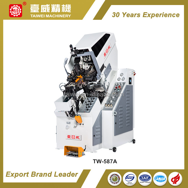Leading Quality 9 Pincers Automatic Hydraulic Shoes Toe Lasting Machine for Footwear