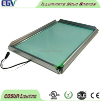 Advertising led sign A0 wall mounted light box