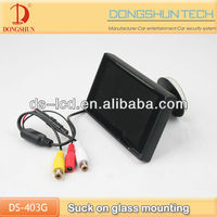 4.3 inch tft car monitor with OSD&Sucker mount