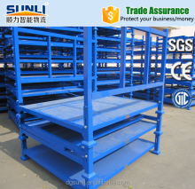 Heavy Duty Scale Foldable Warehouse Stacking Rack