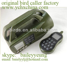 duck decoy mp3, hunting bird mp3 player with remote controller cp-550