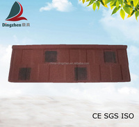 Shingle Type Double Color Roofing Tiles