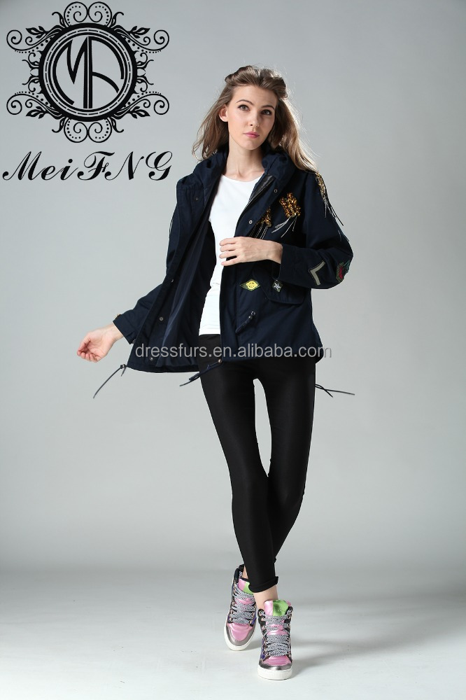 European Style Women Outdoor Black Jacket Non Brands OEM/ODM Available
