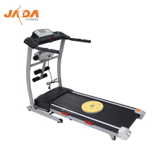 JADA F13M fold away electric manual flat top rated home use treadmill fitness with massager mini walk