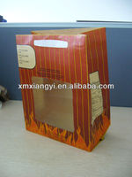 roast chicken paper bag with clear window