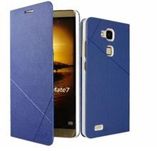Slim Cover with sleep wake up for huawei mate 7