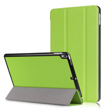 "Hot selling Fashional(caster-grain)Ultra-Thin PU leather flip tablet case for Apple iPad Pro 10.5""(2017) With stand function"