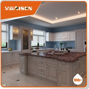 Hot selling poplar solid wood kitchen cabinet buy cherry - Poplar wood kitchen cabinets ...