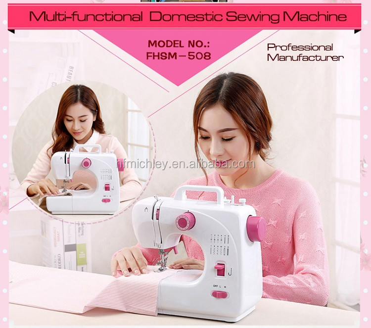 Factory price FHSM-508 multifunction household electric portable rice bag sewing machine manufacturer