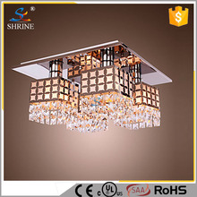 Hot Sale Luxurious Decoration Crystal Ceiling Modern Hotel Lighting