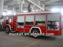 dongfeng 4x2 middle scale 6ton water fire fighting truck for sale