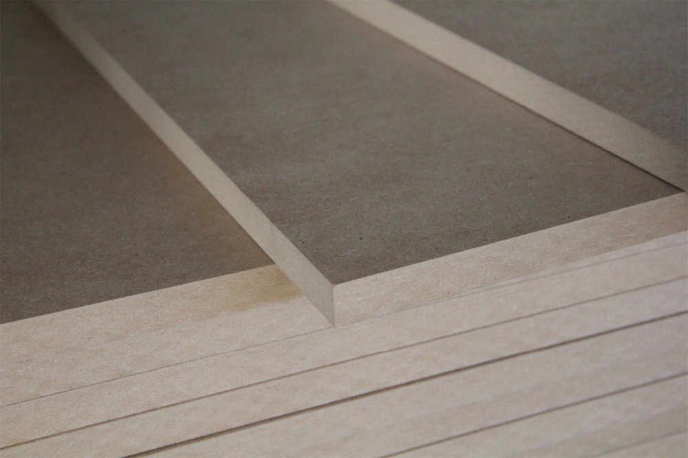 best price mdf slat board factory for sale 1220x2440x18mm