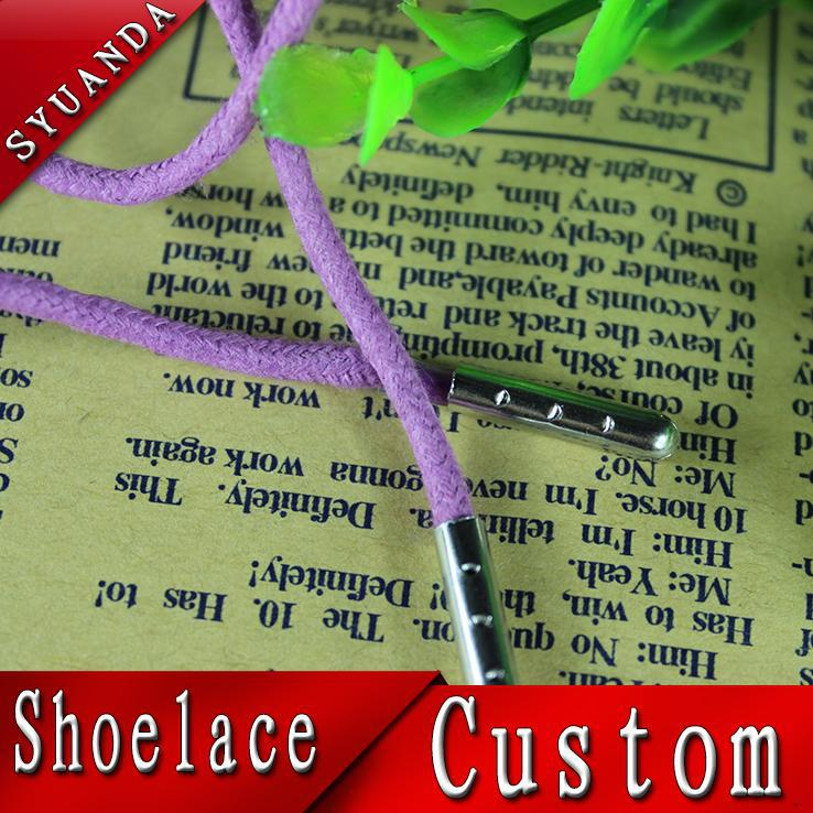 Fancy custom braid elastic shoe lace with varous color