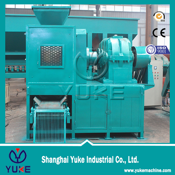Factory Price charcoal press briquette machine/raw materials in charcoal briquette machine