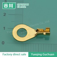 costumized hot sale brass circular ground plate car battery car terminal DJ431-6D