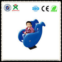 New size amusement kiddie rides ride on toys for twins Whales shake joy QX-153B