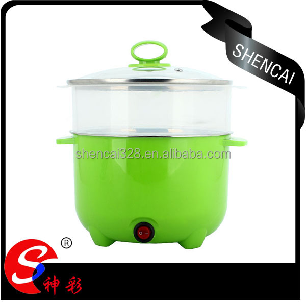 2 layer food steamer electric plastic food steamer cheap price