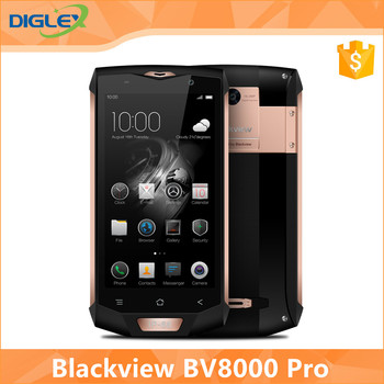 "New Arrvial Blackview BV8000 Pro 4G Mobile Phone 5.0 "" FHD Helio P20 Octa Core 6GB RAM 64GB ROM 16MP Waterproof IP68 Smart Phone"