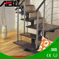Stainless steel 304/marine 316 indoor/outdoor plexiglass stair handrail