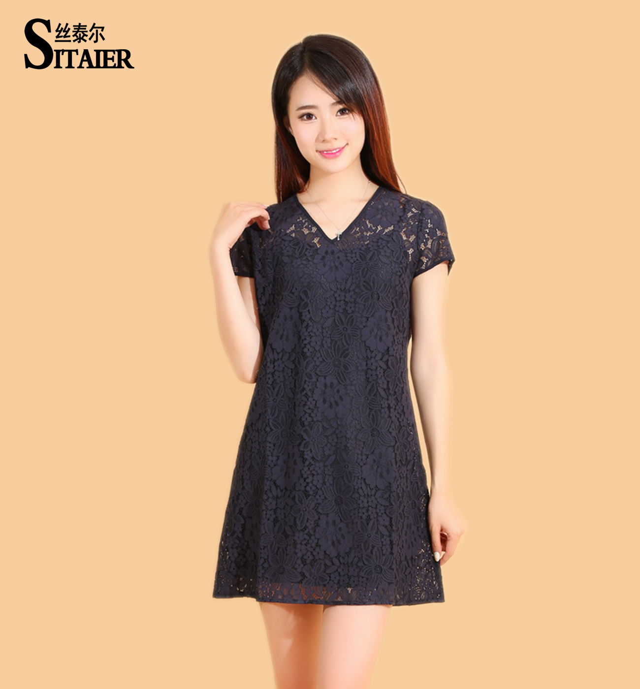 New design fat women lace dress patterns with high quality