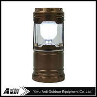New solar rechargeable camping lantern stretched small folding lights emergency light tent portable lights