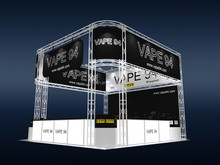 custom portable & modular 20x20 ft(6x6m)Trade Show Display Booth, 6m tradeshow exhibition equipment