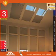 Custom Size Manual operation Honeycomb roller skylight shades