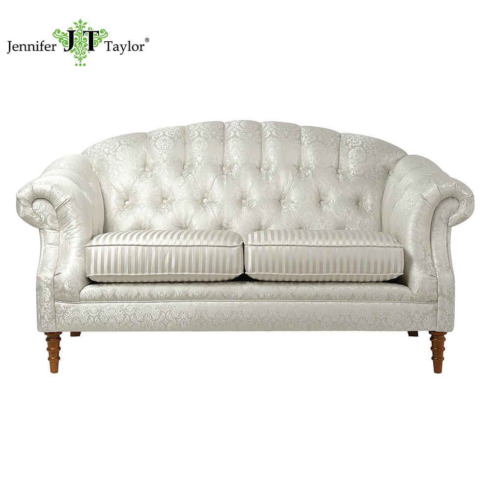 Goodlife living room furniture royal decorative 2 seat chesterfield sofa