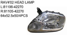 OEM 81106/81105-42270 FOR TOYOTA RAV4 03'-04' Auto Car head lamp head light