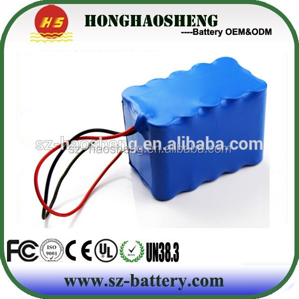 Customized 12V 18AH Lithium Battey Pack 18650 Li-ion Battery for Electric Vehicle
