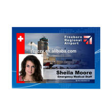 RFID Smart Identity Cards PVC ID Portrait Card With Photo
